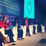 """Women in decision-making: How to close the gender gap"" panel in MEDays, November 2013"