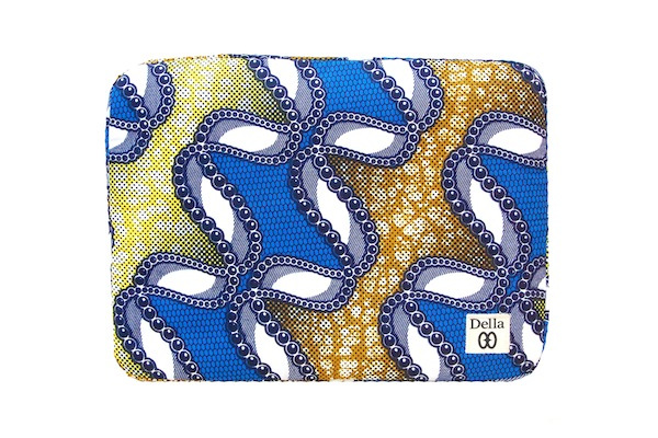 TreasureHunt GIVEAWAY Afropolitan Apple MacBook case by Della 