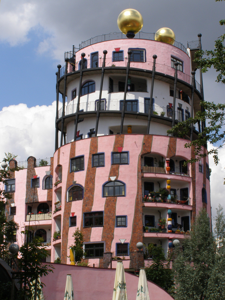 hundertwasserhaus magdeburg Houses that heal and where conversations happen
