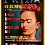 International Women's Month event for your diary: FRIDA – Female Revolution In Dance & Art