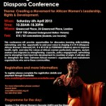Mobilising African Women in the Diaspora – FORWARD Conference