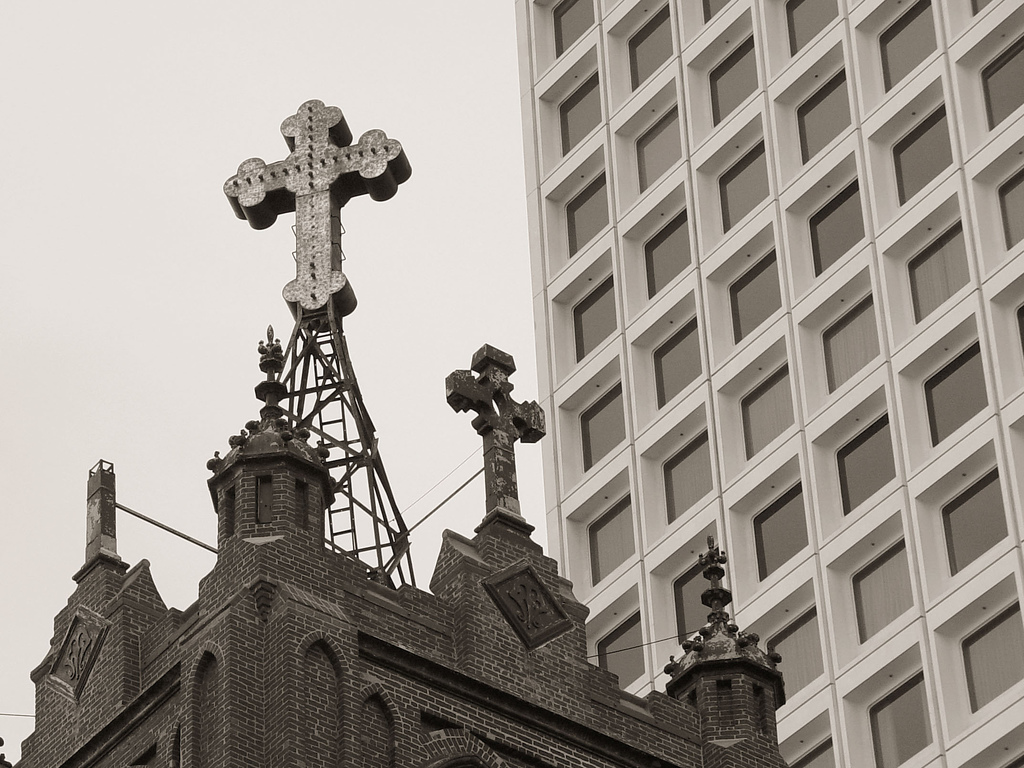 cross in chinatown The unusual relationship between religion and modernity in Africa