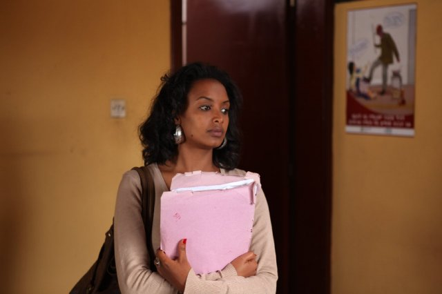 Meren Getnet as Meaza Ashenafi in 'Difret'