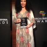 "Winner of the ""Outstanding Achievement in Media"" Award at the African Diaspora Awards!"