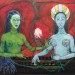 The paintings of Manuela Sambo