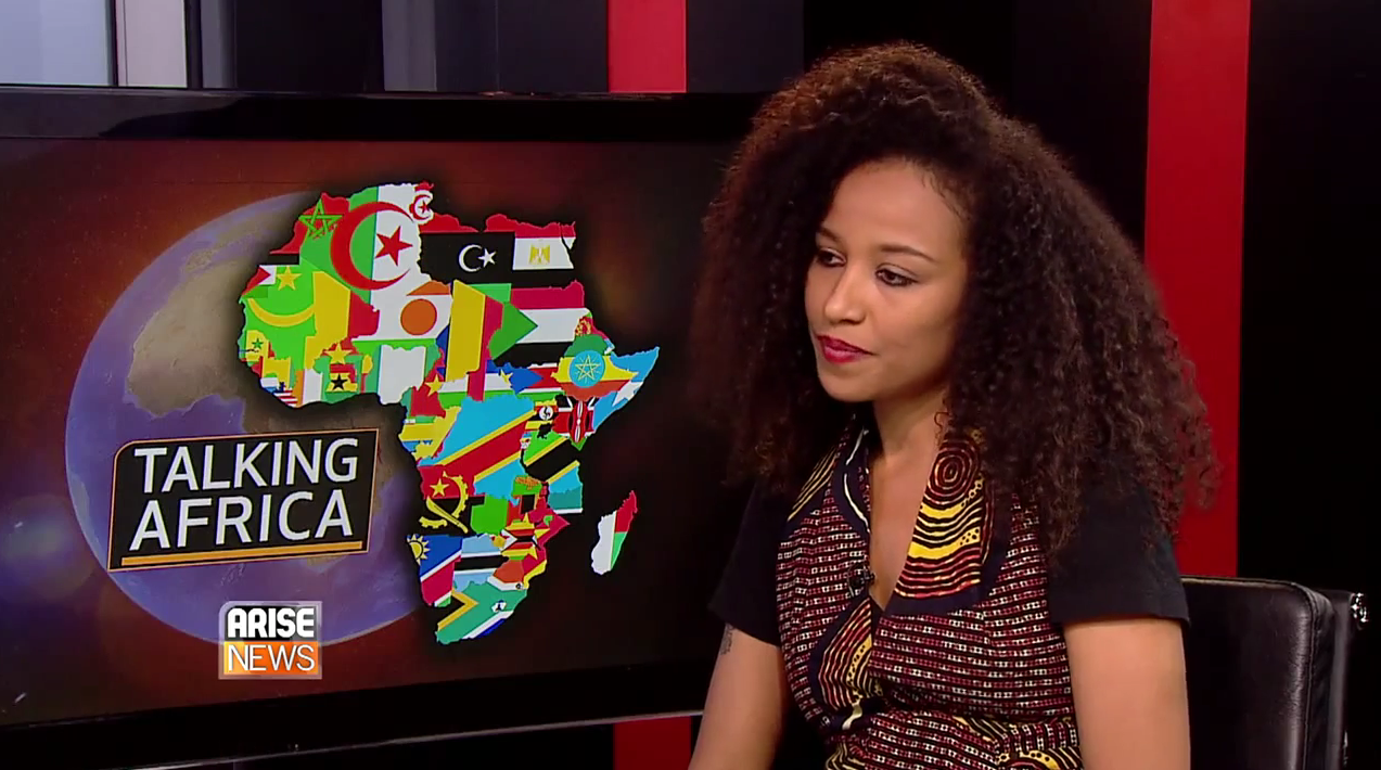 VIDEO: ARISE TV TALKING AFRICA INTERVIEW