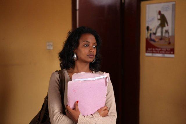 Meren Getnet as Meaza Ashenafi in 'Difret'
